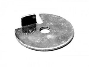 Needle support plate for PHBL carburetors