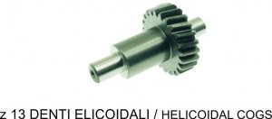 Reinforced idle gear z23 helical teeth for Piaggio Ciao Bravo SI