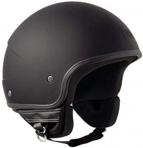 Casco 104E Malindi basic nero