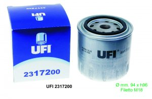Oil filter for Ape 420 Calessino-MP 601-Max Diesel-TM P 703 (petrol and diesel) -Poker