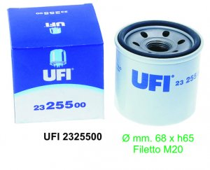Oil filter for Ape 1000/1300 Porter 6v-Pick up