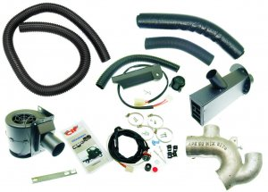 Complete heating kit (Sito muffler) for Ape 50-Europe-MIX-Euro 2