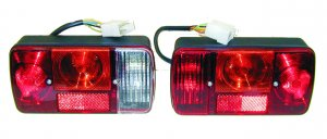 COBO rear lights pair for ape 420 TM P703 / P703V