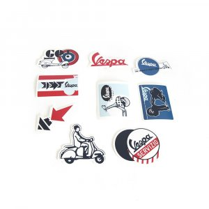 Vespa stickers