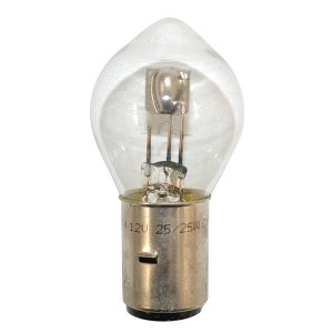 2-light lightbulb, symmetrical 12V 25/25W ( Base ba20d )