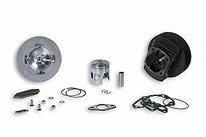 Malossi complete cast iron cylinder kit (130 cc)