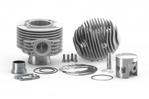 Malossi MHR CVF2 complete cylinder kit in aluminum (177 cc) for Vespa 125/150 Sprint V-GTR-TS-PX