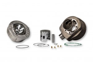 Malossi complete cast iron cylinder kit (178 cc)