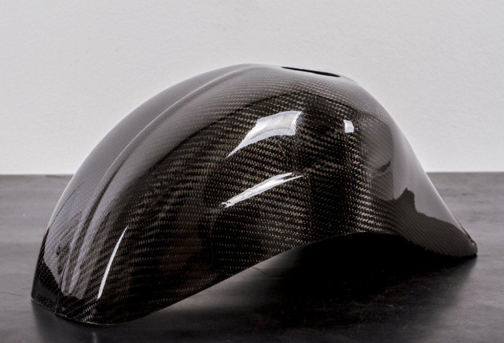 Carbon front fender for Vespa 50/90/125 Special-NLR-Primavera-ET3 with ZIP SP-ET2-Quartz fork