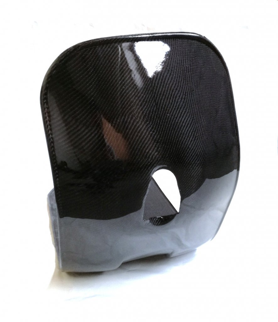 Carbon shield and footboard for Vespa 50/90/125 Special-NLR-Primavera-ET3