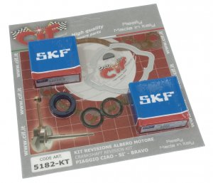 Crankshaft overhaul kit for Piaggio Ciao Bravo SI