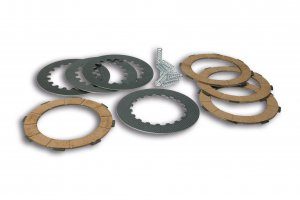 Malossi clutch discs kit (4 discs) for Vespa PX125-200 E Lusso `95-> /` 98 / MY / `11 / Cosa 2