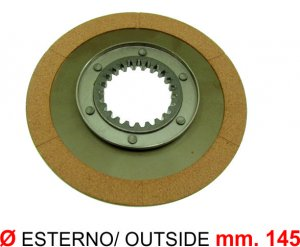 Clutch disc with cup for Ape 220 MP P501-P601-P601V-P2-P3