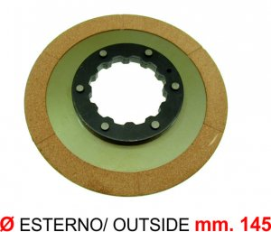 Clutch disc without cup for Ape 220 MP P501