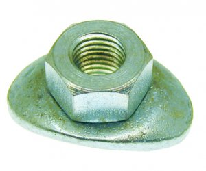 Drum fixing nut for Ape MP-Car