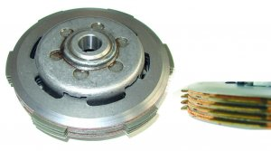 Complete clutch mounted (4-disc modification) for Ape 50 FL2