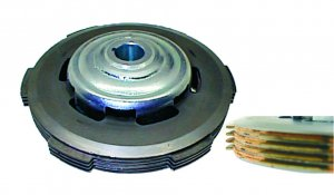 Complete assembled clutch (4-disc modification) for Ape 50
