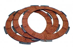 Clutch discs kit for Ape 50 FL2