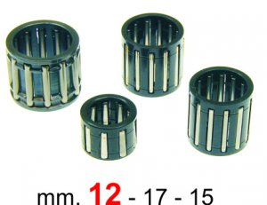 Piston pin roller cage 12x17x15 for Ape 50