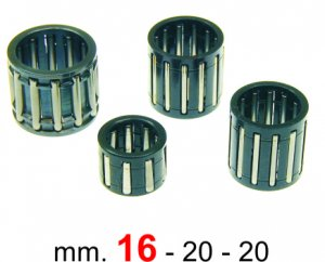 Piston pin roller cage 16x20x20 for Ape 175/220 MP