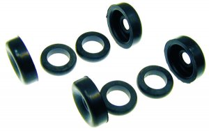 Front brake cylinder overhaul rubber series (8pcs) for Ape 420 Poker (petrol and diesel)