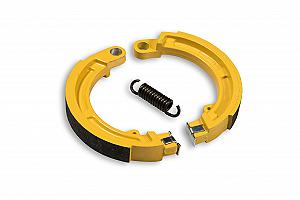 Front power brake shoes