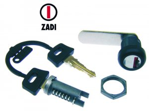 Steering lock with nut for Ape 50 TM-FL2-FL3 Europe