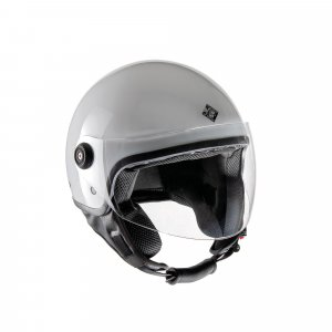 Demi-jet helmet and the white Tucano Urbano jettin