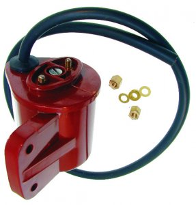 Enhanced Bakelite external ignition coil for Ape 175D-150E