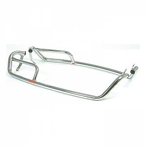 Double tube, chromium plated side bars