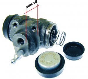 Rear brake cylinder for Ape 220 MP P501-P601-P601-V-P2-P3