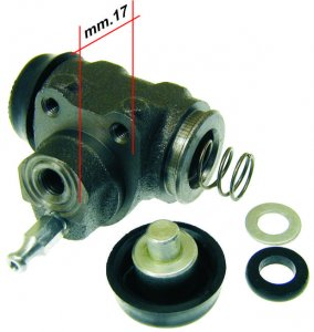 Rear brake cylinder for Ape 420 Poker (petrol and diesel)