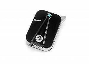 Black rechargeable lighter (similar to the Vespa front body )