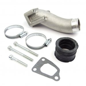 Intake manifold with 3 holes (35mm connection) for Vespa 125 PK XL / N / HP / FL