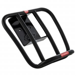 SIP 70's rear luggage rack in black color for Vespa 125/300 GTS-GTS Super HPE 2019>