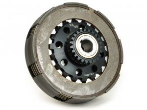 Complete clutch BGM Pro Pro Superstrong CNC Z 23 for elastic gear 64/65 teeth Vespa 200-PX-PE-Rally