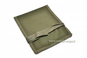 Green canvas tool bag