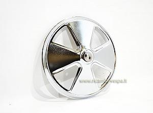 Chrome plated wheel hub