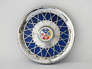 Cap for chromed-plated wheel