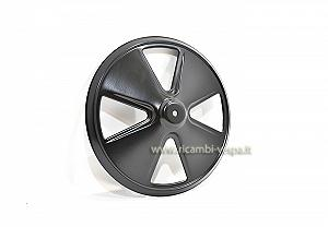 Wheel hub cap, black painted