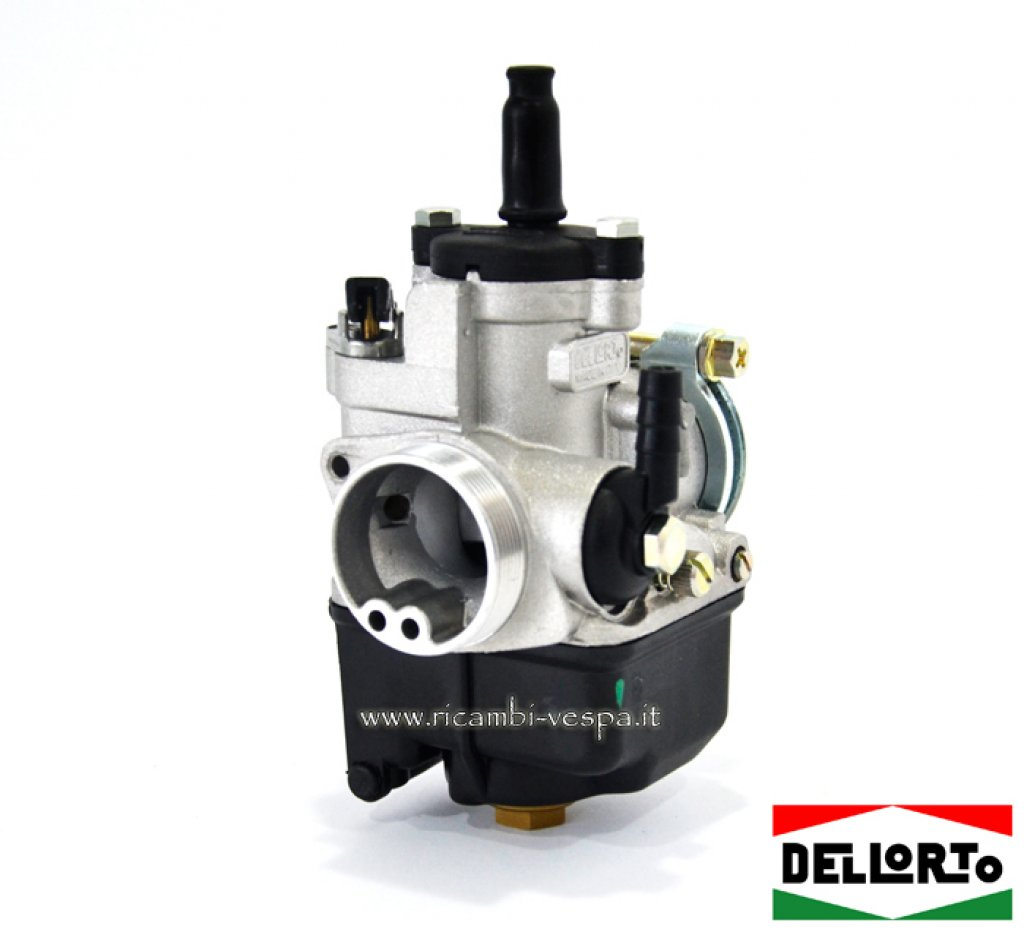 Carburetor dell 'Orto PHBL Ø 24 with Parmakit filter calibrated for thermal group CCcorsa Vespa 50/90/125/150/200 Special-GT-GTR-TS-PX-GL-ET3
