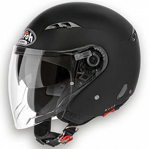 Open face Airoh City One helmet - Black