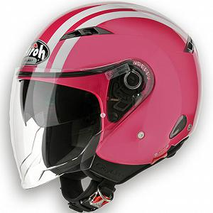 Open face Airoh City One helmet - Pink