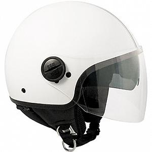 Open face Airoh Compact helmet - Silver