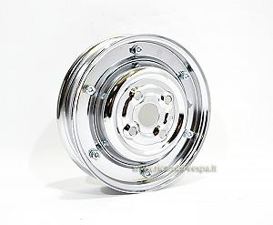 Chrome plated closed rim
