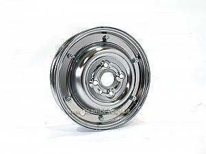 Chromium plated closed rim