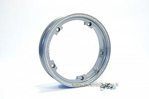 Grey aluminium tubeless rim