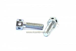 Starter lever securing drilled bolts (pair)