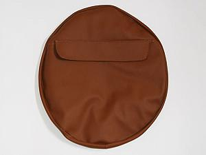 Spare brown wheel cover (10 inches)