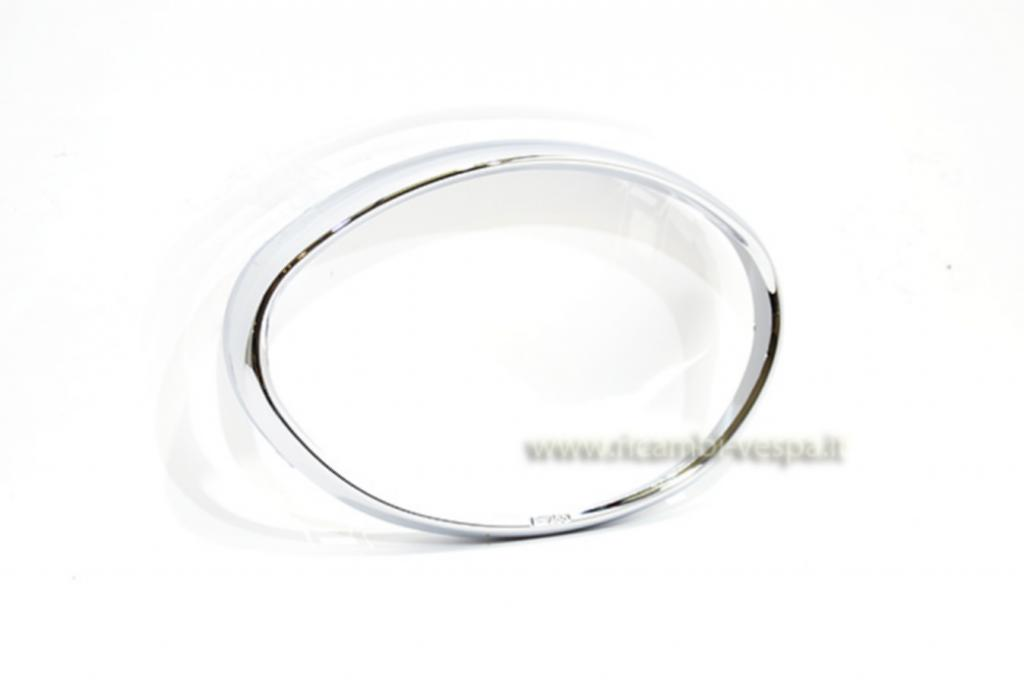 Chrome plated ABS plastic headlamp frame